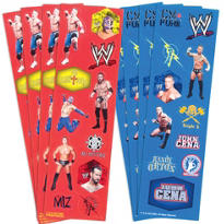 WWE Stickers 88ct
