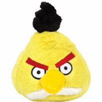 Yellow Angry Birds Plush Toy 5in