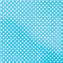 Robin's Egg Blue Dot Printed Tissue Paper 8ct