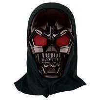Metallic Robot Skull Mask