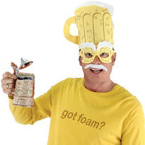 Beer Man Costume Kit