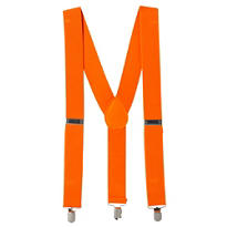 Orange Suspenders