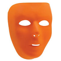 Basic Orange Face Mask