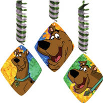 Scooby Doo Dangling Cutouts 3ct