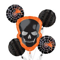 Foil Shocktails Halloween Balloon Bouquet 5pc