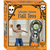 Halloween Inflatable Ball Toss