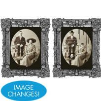 Creepy Couple Lenticular Portrait 10in x 10in