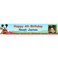 Mickey Mouse Clubhouse Custom Photo Banner 6ft