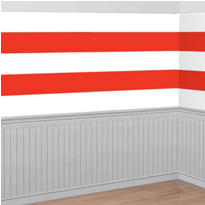 Patriotic Stripes Room Roll