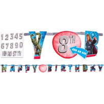 Add an Age Avengers Birthday Banner 10ft