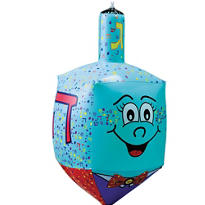 Hanukkah Inflatable Dreidel 23in