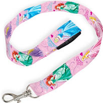 Pink Disney Princess Lanyard