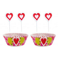 Valentines Day Cupcake Combo Pack for 24