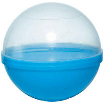 Blue Ball Favor Container