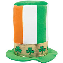 Irish Flag Stovepipe Hat