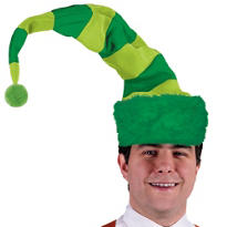 St. Patricks Day Striped Hat