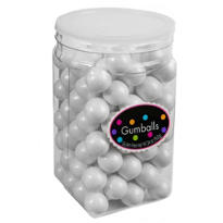 Pearl White Gumballs 115pc