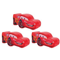 Cars Easter Eggs 3 1/4in 3ct
