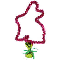 Tinsel Bunny Easter Centerpiece
