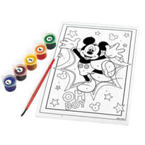 Mickey Mouse Paint By Number