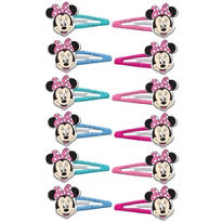 Minnie Mouse Barrettes 12ct
