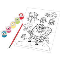 SpongeBob Paint By Number 7pc