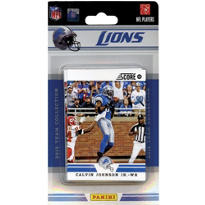 NFL Detroit Lions Team Cards