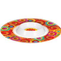 Fiesta Chip & Dip Tray 13in