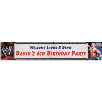 WWE Custom Banner 6ft