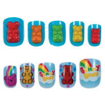Pop Grrl Gummy Bear Nails