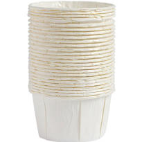 White Nut & Party Cups 24ct