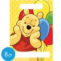 Winnie the Pooh Favor Bags 8ct