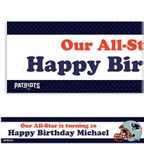 Custom New England Patriots Banner 6ft