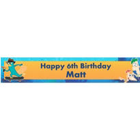 Phineas & Ferb Custom Banner 6ft