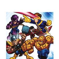 Marvel Super Hero Squad Lunch Napkins 16ct