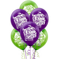 Teenage Mutant Ninja Turtles Balloons 12in 6ct
