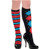 Geek Chic Knee High Socks