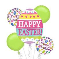Easter Eggs Balloon Bouquet 5pc