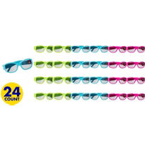 Neon Birthday Sunglasses 24ct