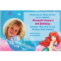 Ariel 2 Custom Photo Invitation