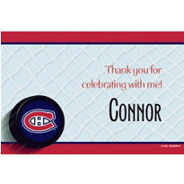 Montreal Canadiens Custom Thank You Note