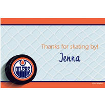 Edmonton Oilers Custom Thank You Note