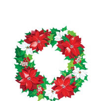 Holiday Paper Wreath