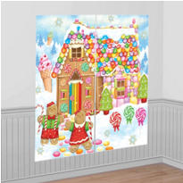 Sweet Holiday Scene Setters 2pc