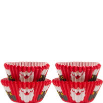 Santa Beard Mini Baking Cups 100ct
