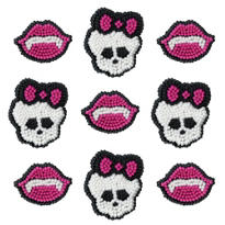 Monster High Icing Decorations 12ct