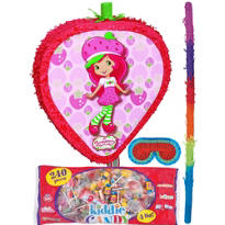 Pull String Strawberry Shortcake Pinata Kit