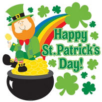 Happy St. Patricks Day Cutout