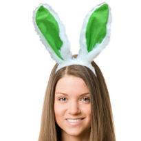 Kiwi Bunny Ears Headband