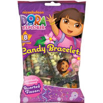Dora the Explorer Candy Bracelets 8ct